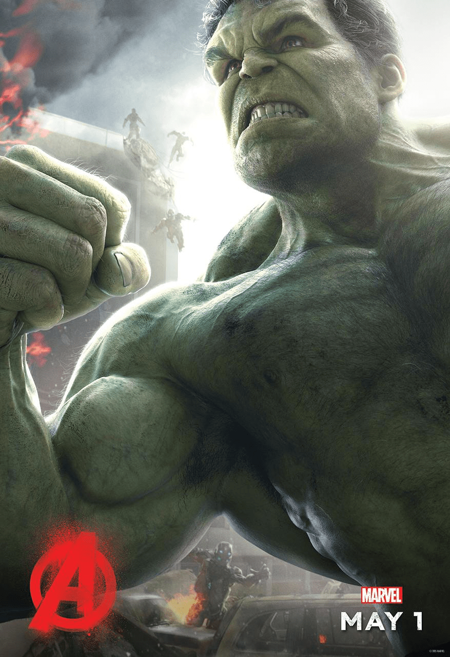 Age of Ultron Hulk poster