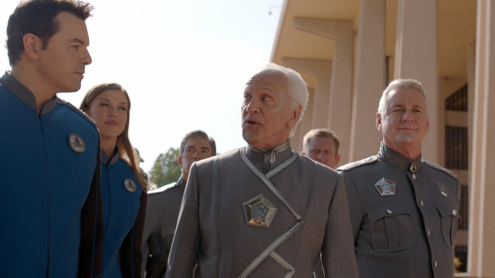 The Orville All the World is Birthday Cake