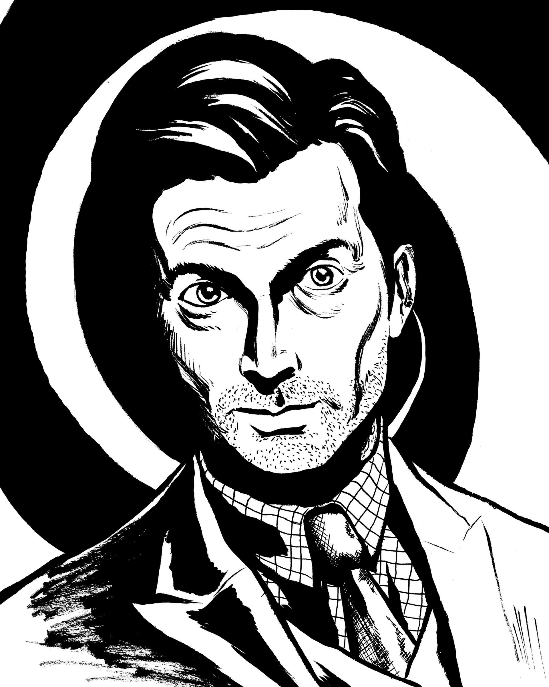 Hall of Faces - Kilgrave (David Tennant), Jessica Jones