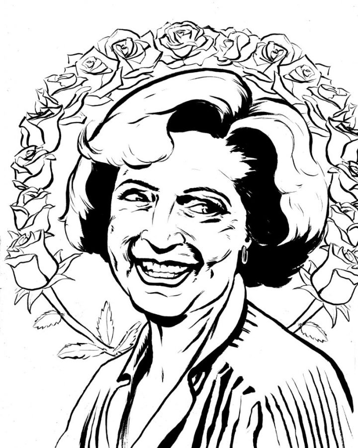 Hall of Faces - Rose Nylund (Betty White), The Golden Girls