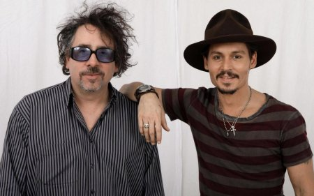 Johnny Depp Tim Burton