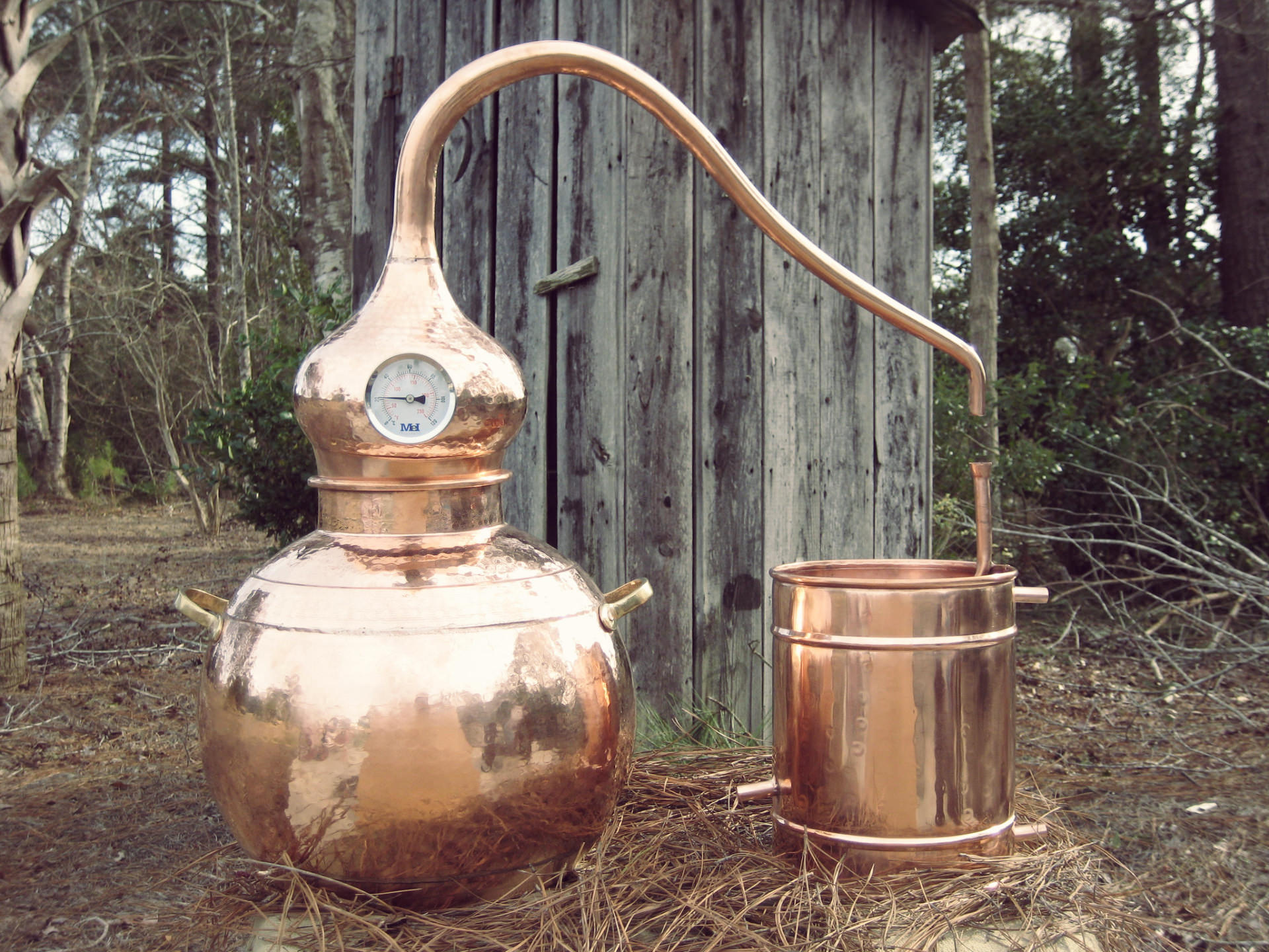 Home distilled spirits plant.