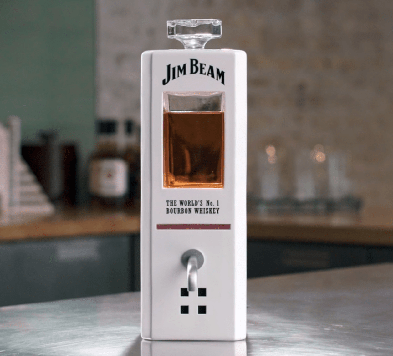 Jim Beam's Voice-Activated Decanter Will Pour You a Shot on Command