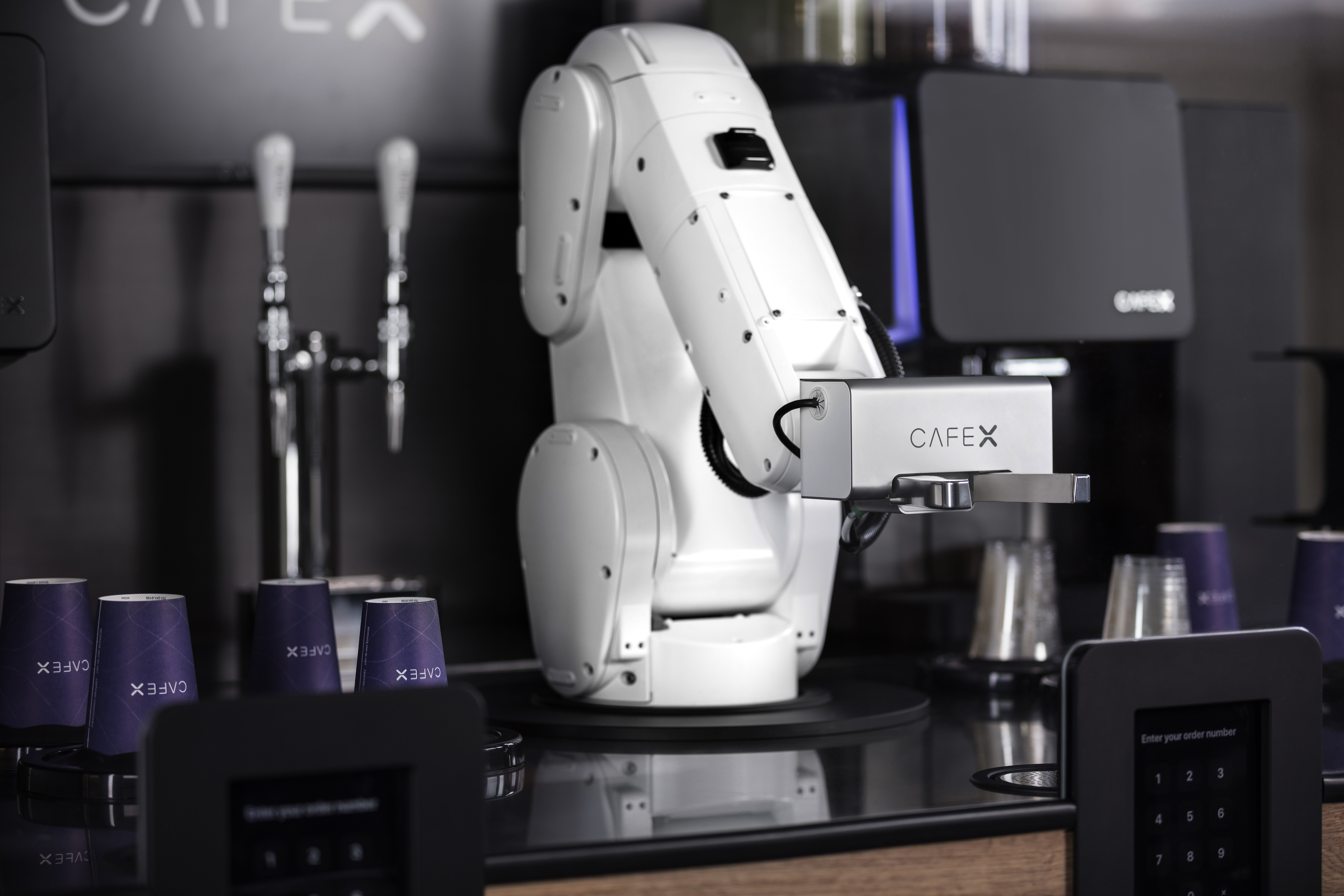 Cafe X S Second Generation Robot Barista Is A True Coffee