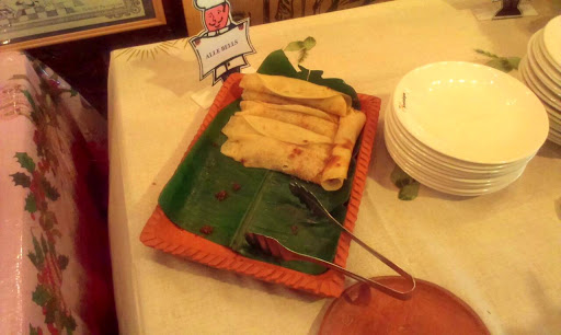 'Alle Belle'- a pancake stuffed with a delicious mixture of jaggery and coconut