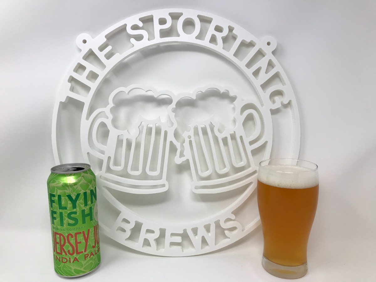 A Review of Flying Fish's Jersey Juice IPA