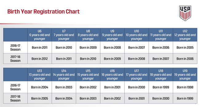 Figure 1. Birth Year Chart
