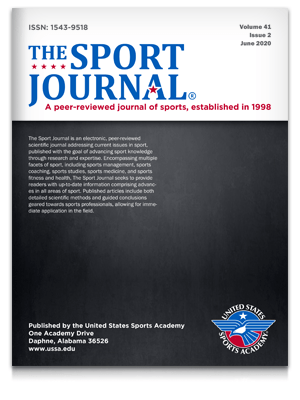 The Sport Journal v41