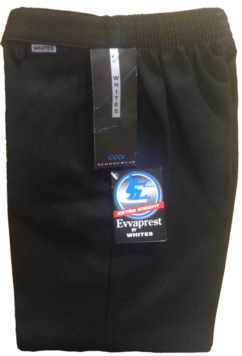 Black School Trousers by Whites