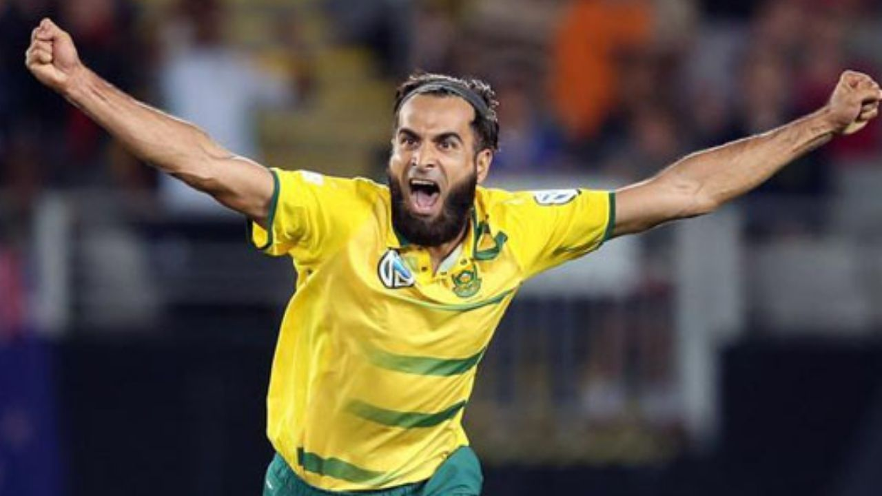Watch: Imran Tahir Becomes The First Bowler To Take A Hat Trick In The Hundred