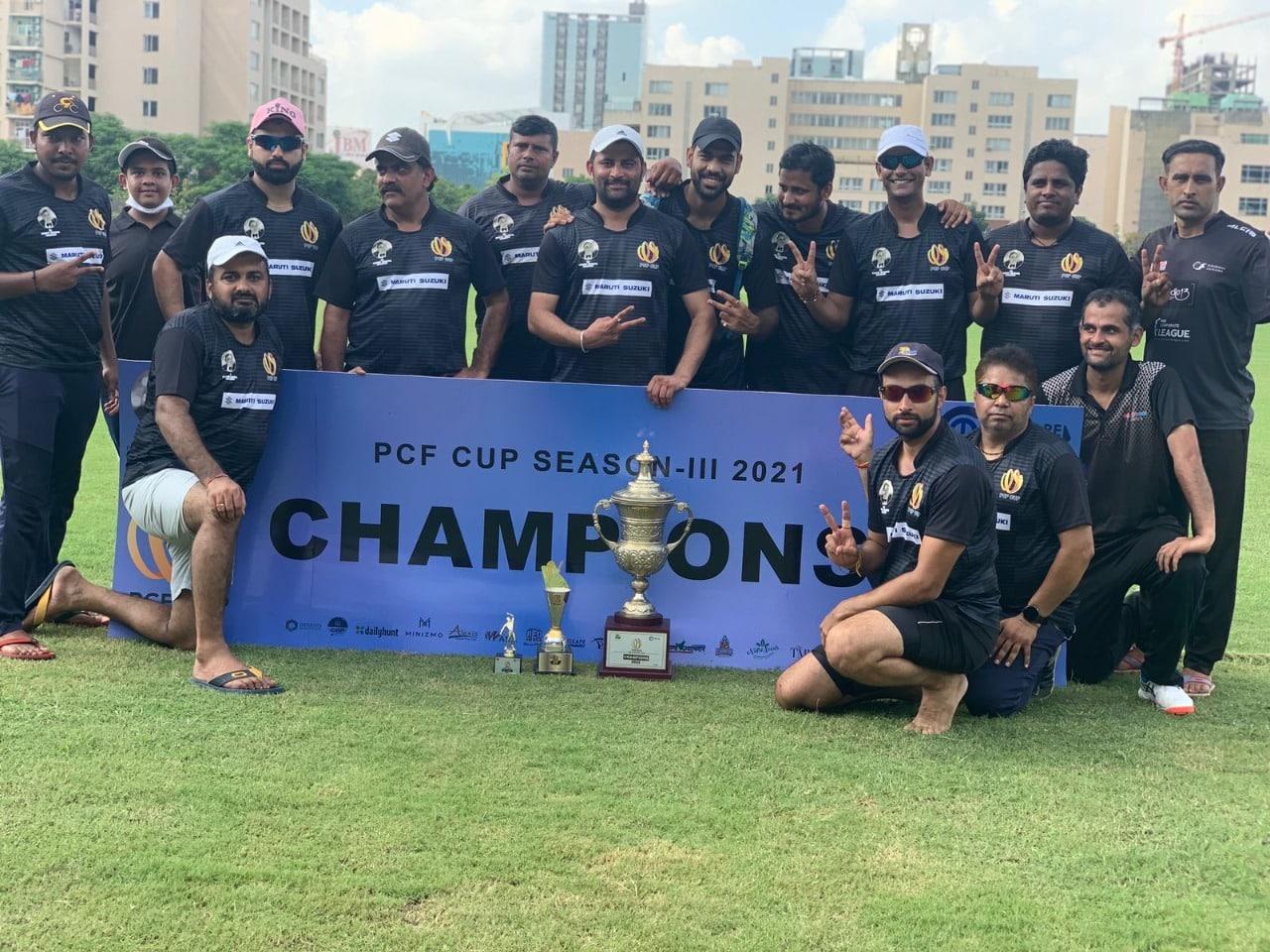 Maruti Suzuki Wins The Ponty Chadha Foundation's PCF Cup Cricket Season III
