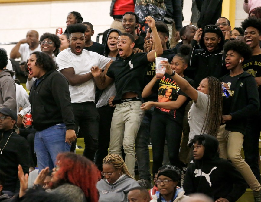 Oxon Hill dominates Huntingtown in first round of playoffs (Photos)