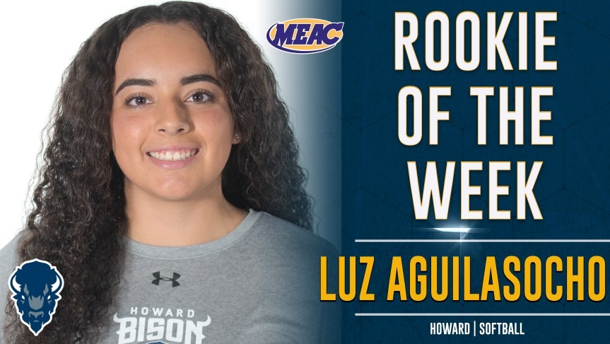Howard's Aguilasocho Selected MEAC Rookie of the Week