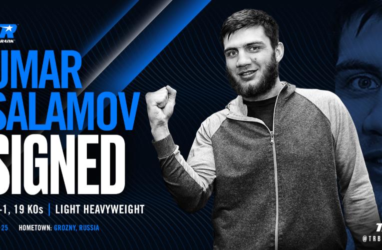 WBO No. 2 contender, Salamov, signs with Top Rank