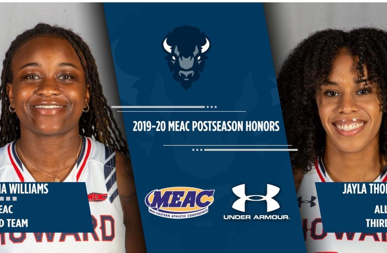 Williams, Thorton earn MEAC postseason honors