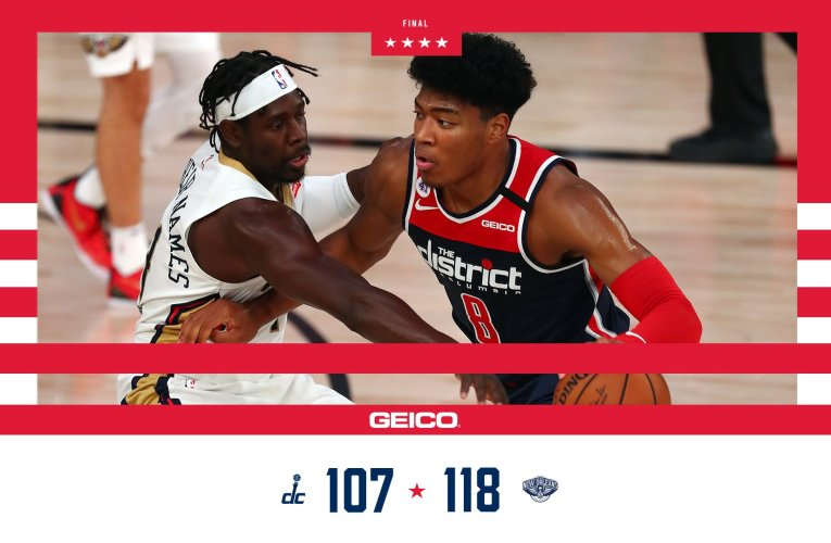Pelicans strangle Wizards in second half, Wizards fall to 0-5