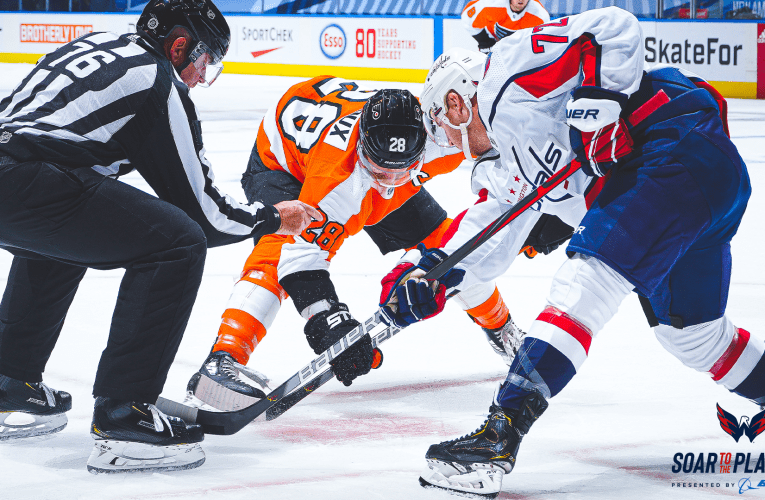 Capitals fall flat against rival Flyers