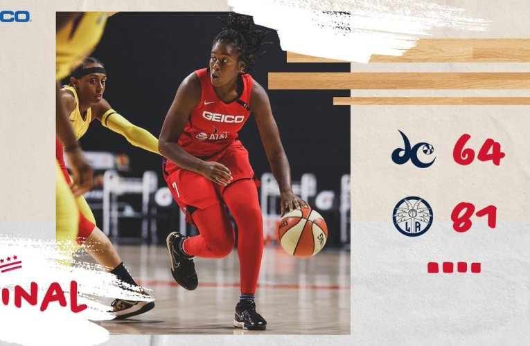 Mystics falls hard against LA Sparks, loses sixth straight