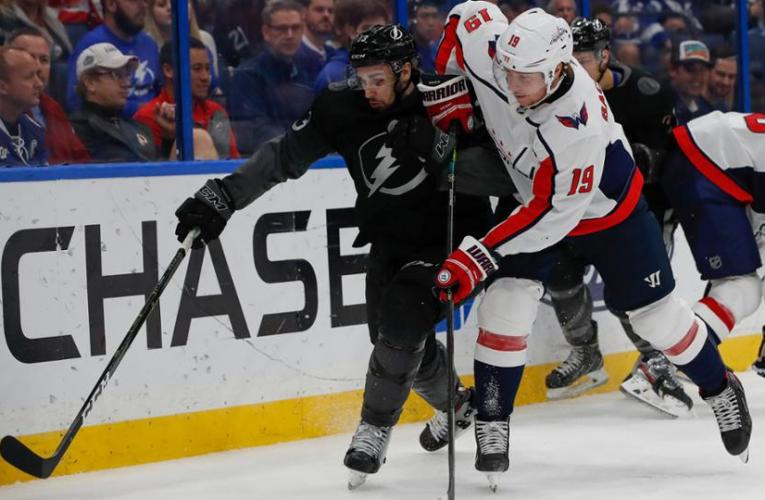 Capitals fall to Lighting in Round Robin shootout