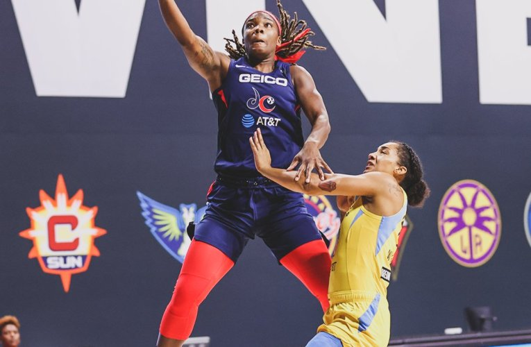 Mystics snap five-game losing streak with double-digit victory over Sky