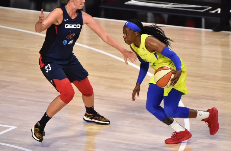 Ogunbowale explodes for 39 points, powering Wings to OT victory over Mystics