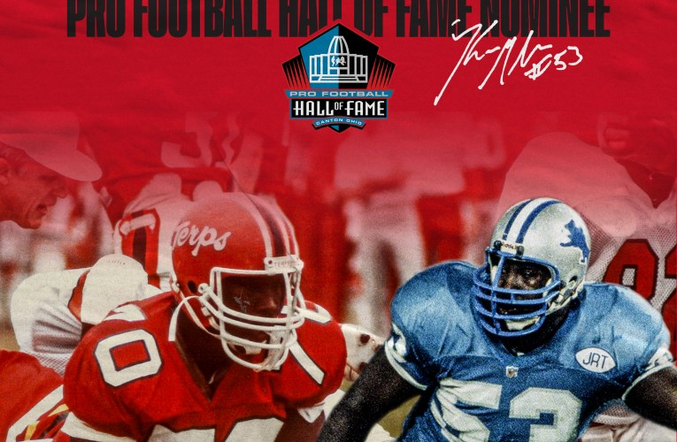 Former Largo High School, UMD lineman named nominee for Pro Football Hall of Fame