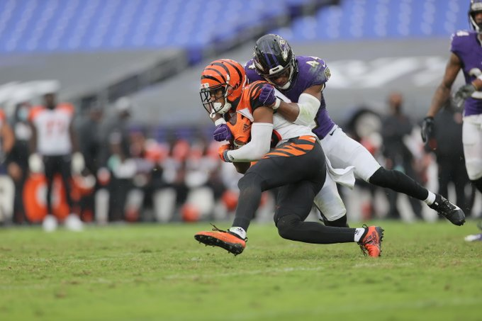 Ravens defense dominates in home win over Bengals