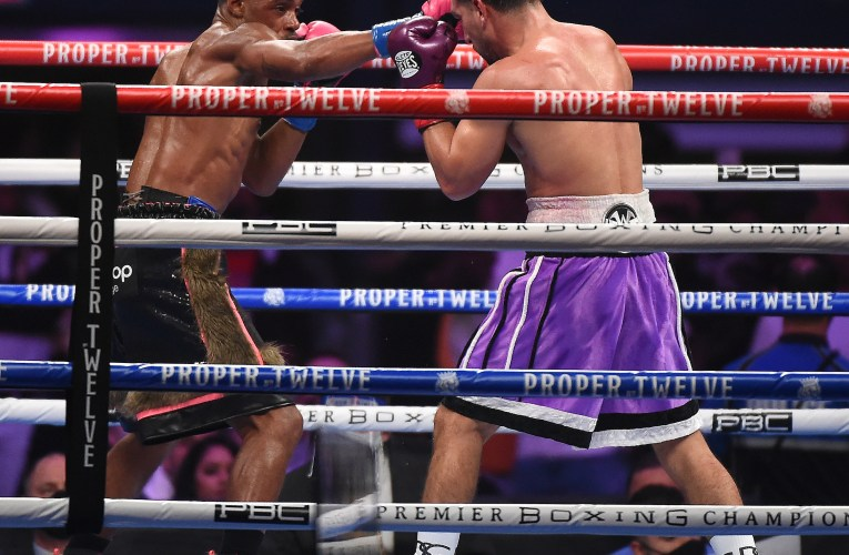 Spence dominates Garcia in return bout, retains IBF, WBC welterweight titles