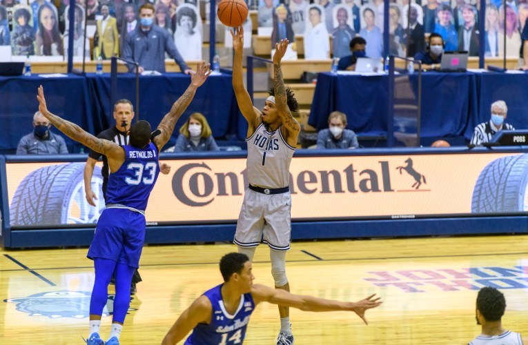 Pickett scores season-high 20 points as Hoyas defeat Pirates