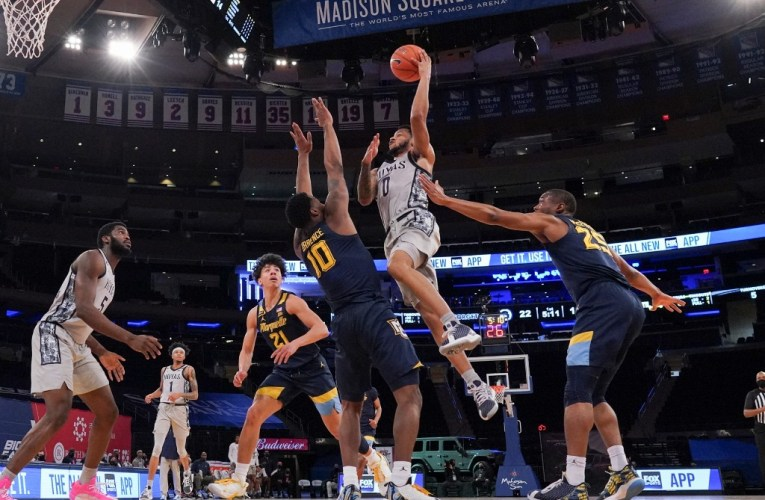 Georgetown earns huge victory over Marquette in Big East Tournament debut