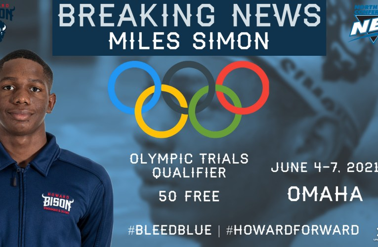 Howard's Miles Simon Qualifies for U.S. Olympic Trials