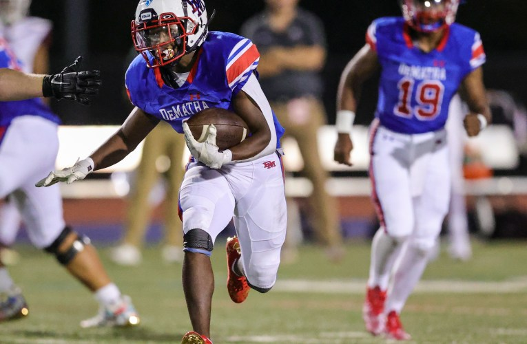 DeMatha runs past Episcopal 42-6 at PG Sports & Learning Complex