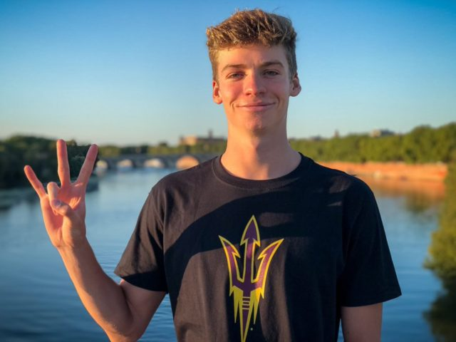 ASU Commit Leon Marchand Hits 100 Fly PB for French Age Record