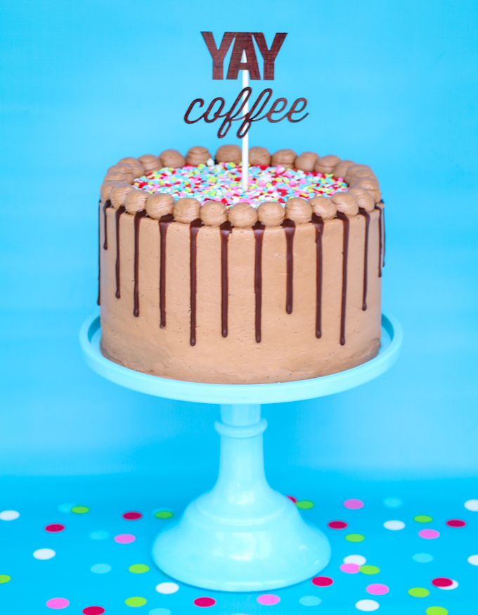 Pleasing Mocha Cake Love Coffee Love Chocolate This Cake Is For You Funny Birthday Cards Online Elaedamsfinfo