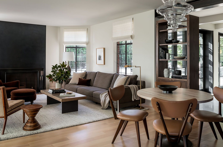 Small Living Room With Dining Room Design Ideas Novocom Top