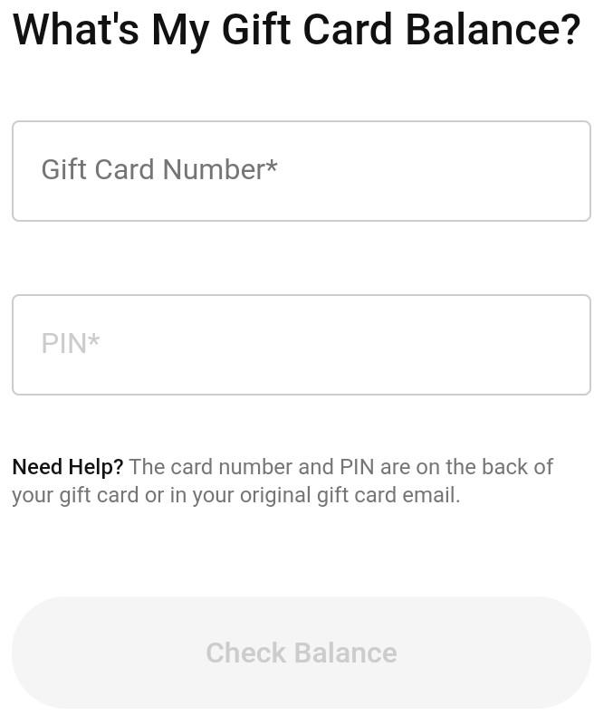 Nike Cift Card Balance Checker - How To Check Nike Gift Card Balance Online