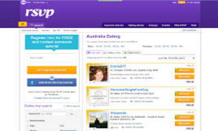 RSVP Login Page - RSVP Dating Site Login - www.rsvp.com.au/ login
