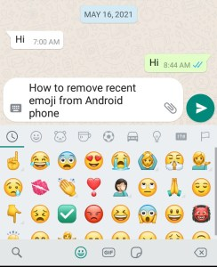 How To Delete Certain Emojis On Android ( Best Method )