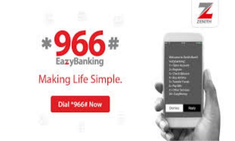 Zenith Bank Transfer Code *966# - Zenith Bank USSD Code
