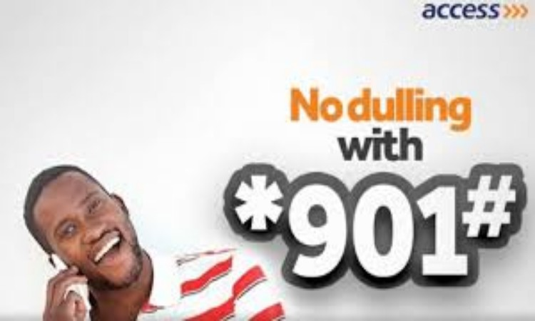 Access Bank transfer code *901# - how to transfer money to other with Access Bank USSD code