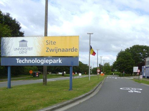 Tech park Zwijnaarde entrance ©VOKA
