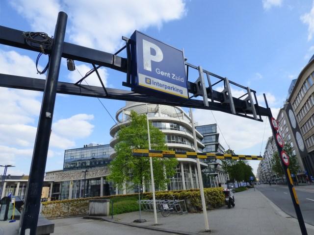 Underground parking at Zuid