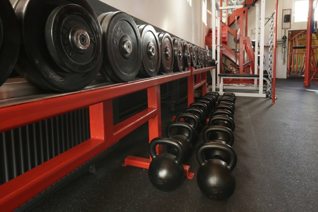 This is an image of a gym in Ghent