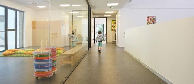 Wide ISG Hallway