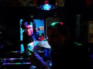 This is an image of Dominique Vanderbeken as a DJ