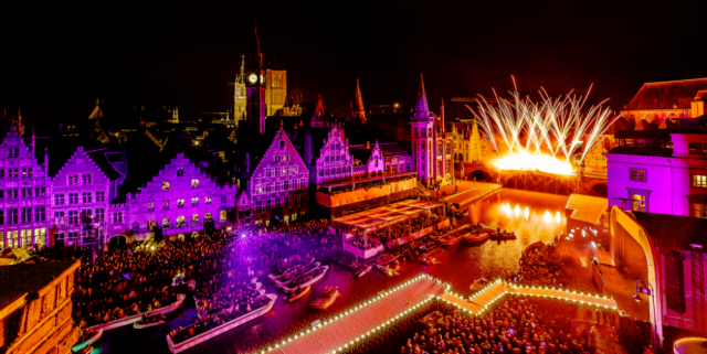 OdeGand festival view in Ghent