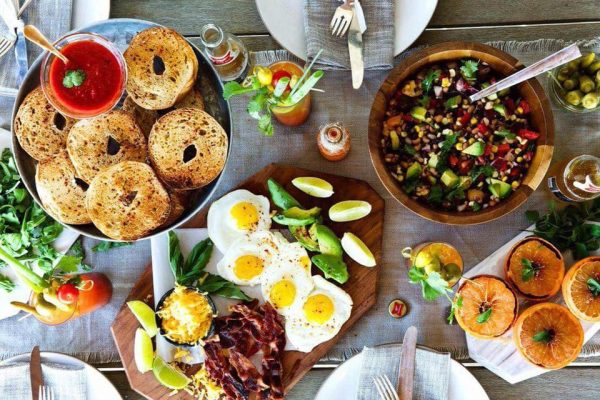 Iamge of Amelie + Moi brunch selection