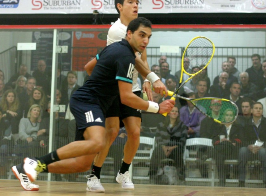Motor City Open : It's Abouelghar in five – SquashSite – all