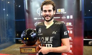 Black Ball Open : Gawad completes a great week in Cairo