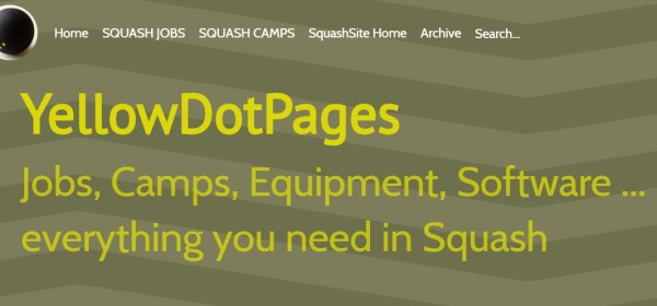 SquashSite – all about Squash – welcome to the new SquashSite